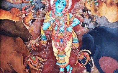 Krishna, die Kühe und mein Weg zur Lebensfreude